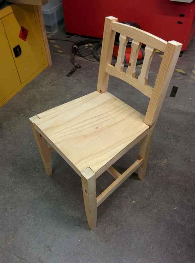 Дачный стул своими руками фото 18