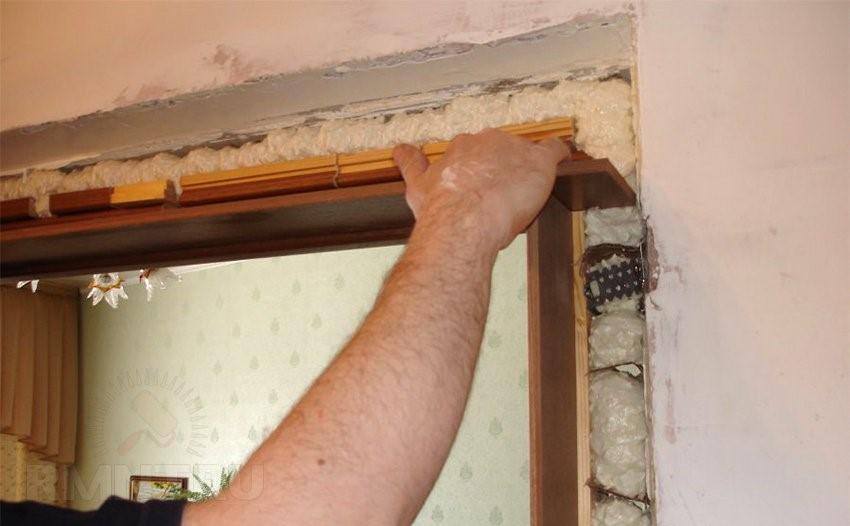 Ремонт дверных проемов своими руками 54