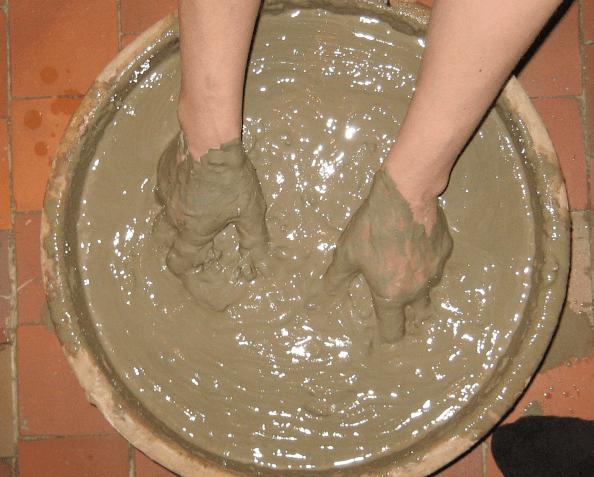 Как сделать глину виде 916